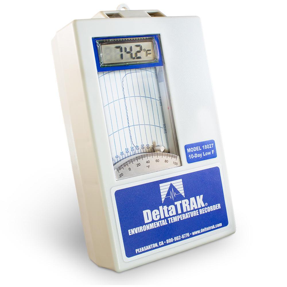 Deltatrak 18029 Digital Lcd Environmental Temperature Chart Recorder Jpg